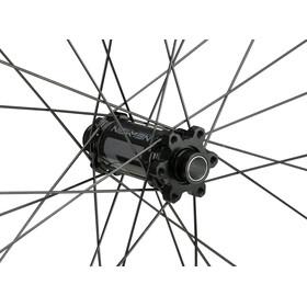 """NEWMEN Evolution SL A.35 Roue avant 29"""" 15x100mm 6 vis Gen2, black anodized/grey"""